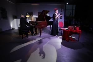 Sarah Hickethier (Sopran) und Matthias Alteheld (Flügel)